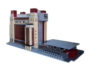 Lego BALTIC - front elevation