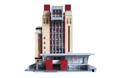 Lego BALTIC - West elevation