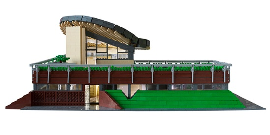 Maggie's Centre - front elevation